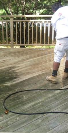 Powerwashing Morris County NJ